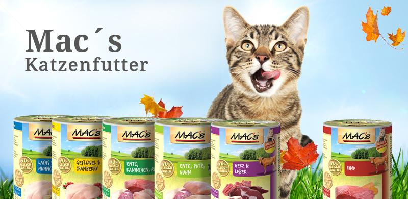 MAC´s Katzenfutter