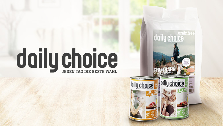 daily choice Hundefutter