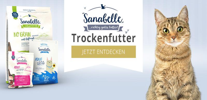 Sanabelle Trockenfutter für Katzen