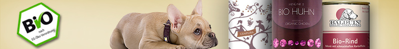 Banner Bio Hundefutter Nass