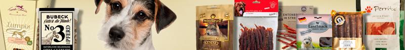 Banner Hundefutter Getreidefreie Snacks für Hunde