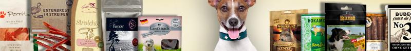 Banner Hundefutter Leckerlis & Snacks für Hunde