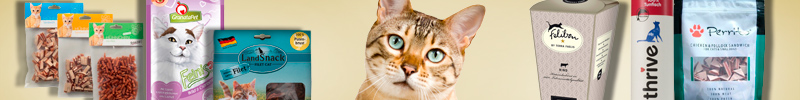 Banner-Katzenfutter-Leckerlis-und-Snacks-Getreidefrei
