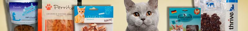 Banner-Katzenfutter-Leckerlis-und-Snacks-Reinfleisch