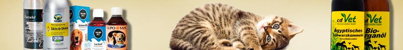Banner Katzenfutter Spezial-& Frostfutter BARF Frostfutter Öle und Fette