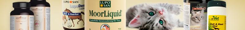 Banner Katzenfutter Spezial & Frostfutter Haut und Fell