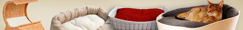 Banner Katzenzubehör Betten und Kissen