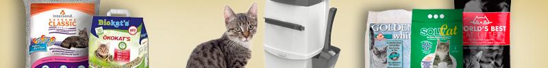 Banner Katzenzubehör Katzenstreu und Hygiene Katzenstreu