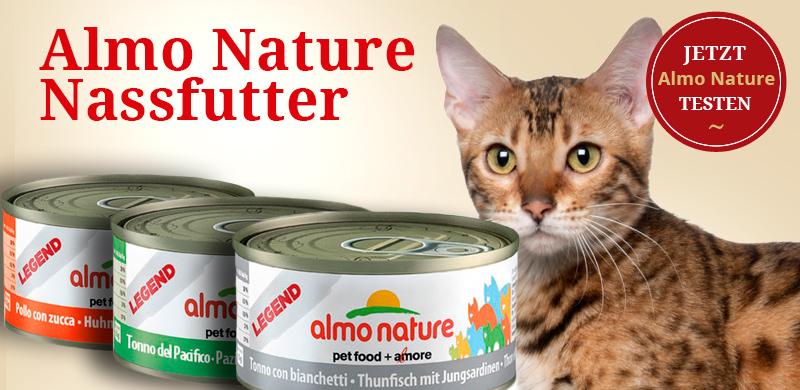 Almo Nature Nassfutter für Katzen