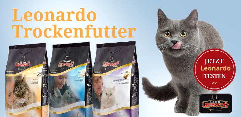 Leonardo Katzenfutter Trockenfutter