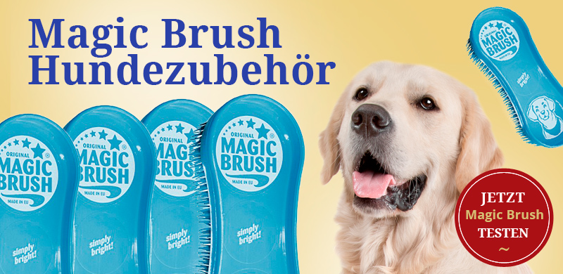Magic Brush Hundezubehör