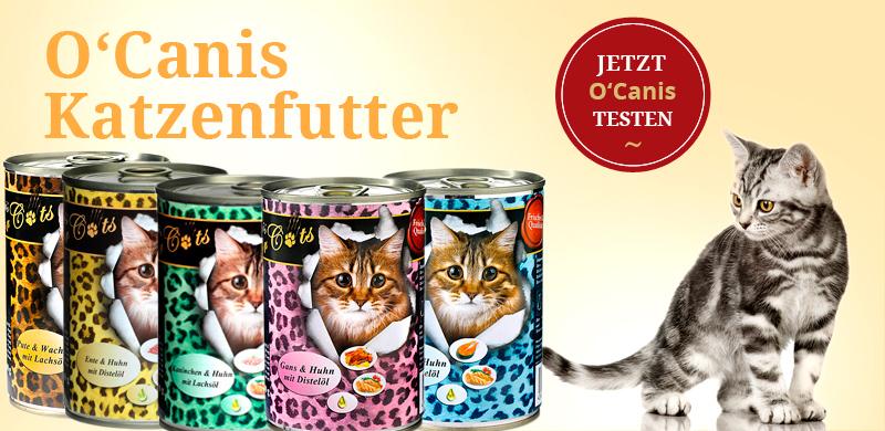 O´Canis Katzenfutter