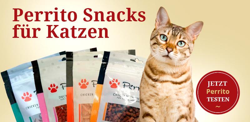 Perrrito Snacks für Katzen