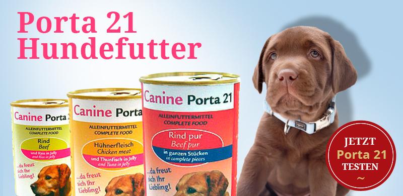 Porta 21 Hundefutter