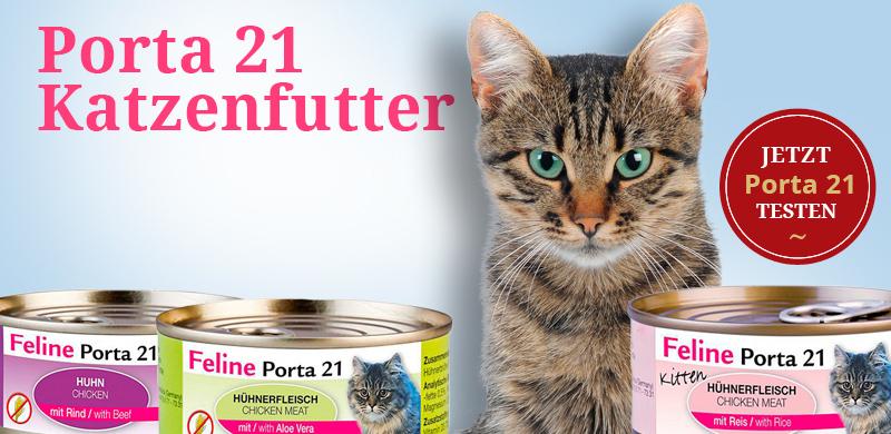 Porta 21 Katzenfutter