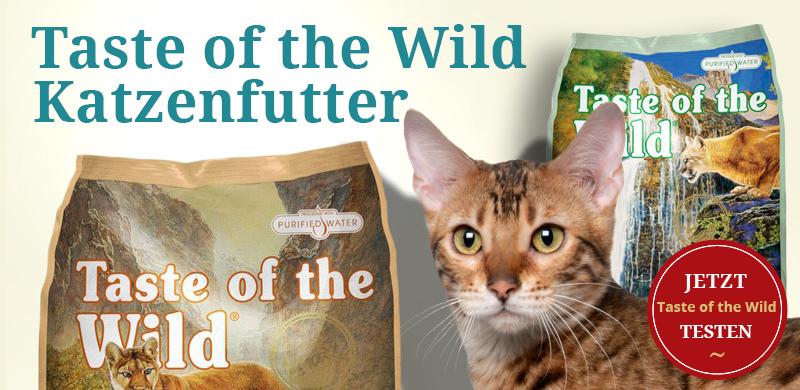 Taste of the Wild Katzenfutter