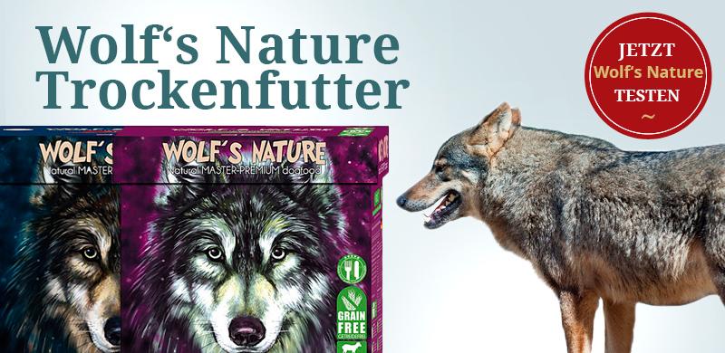 Wolf´s Nature Trockenfutter