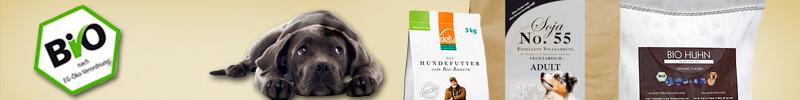 Banner Bio Hundefutter Trocken