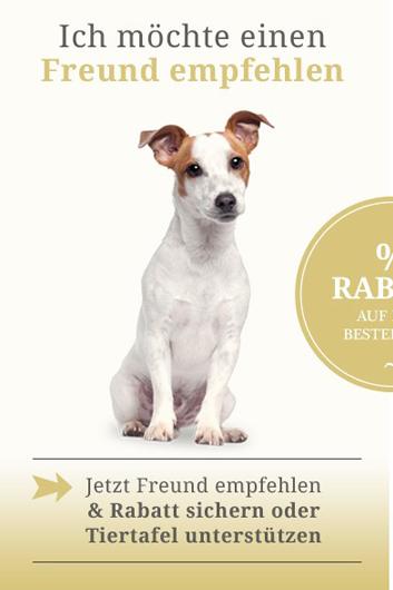 Freunde Werben bei pets Premium