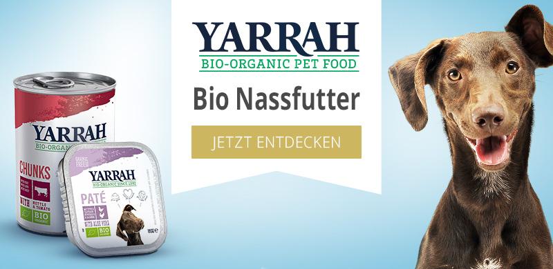 Yarrah Bio Nassfutter für Hunde