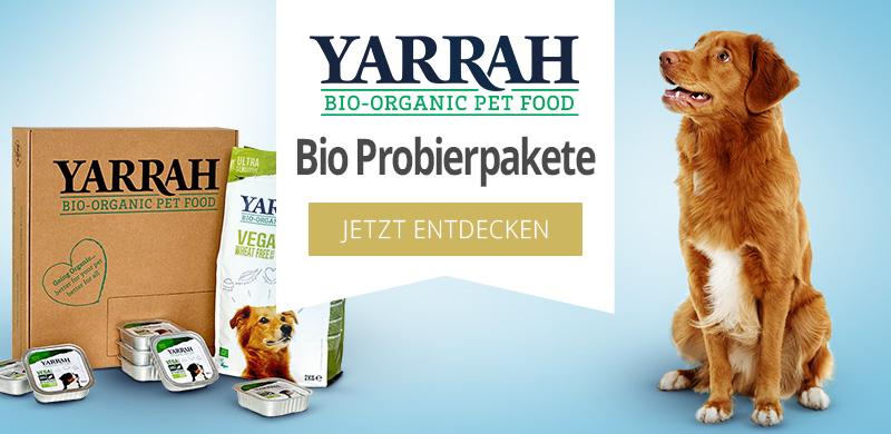 Yarrah Bio Probierpakete für Hunde