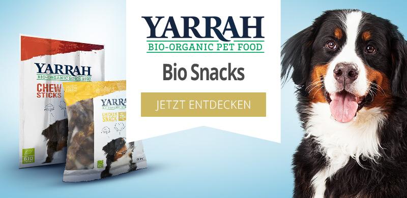 Yarrah Bio Snacks für Hunde