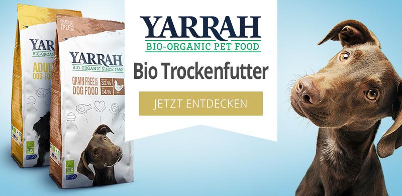 Yarrah Bio Trockenfutter für Hunde