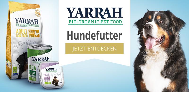 Yarrah Nassfutter für Hunde