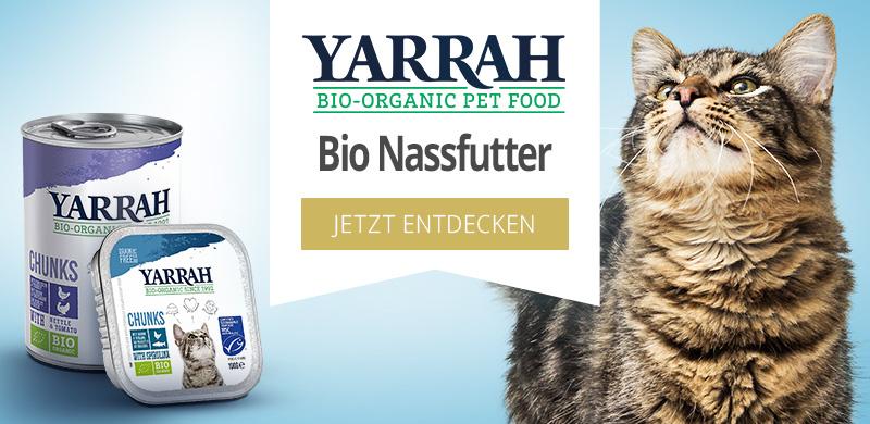 Yarrah Bio Nassfutter für Katzen