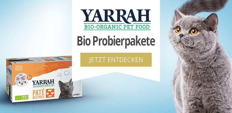 Yarrah Bio Probierpakete für Katzen
