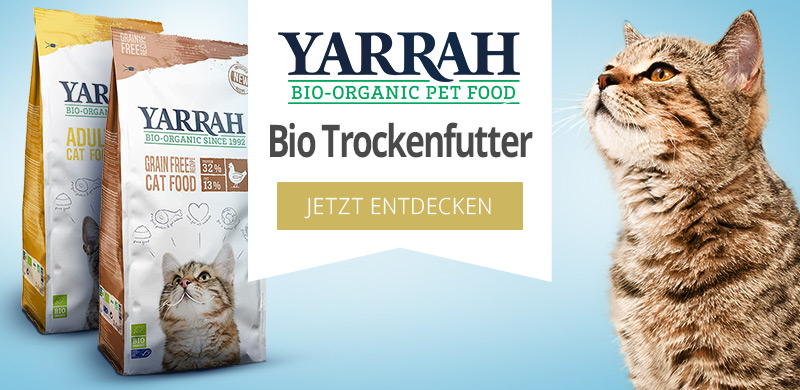 Yarrah Bio Trockenfutter für Katzen