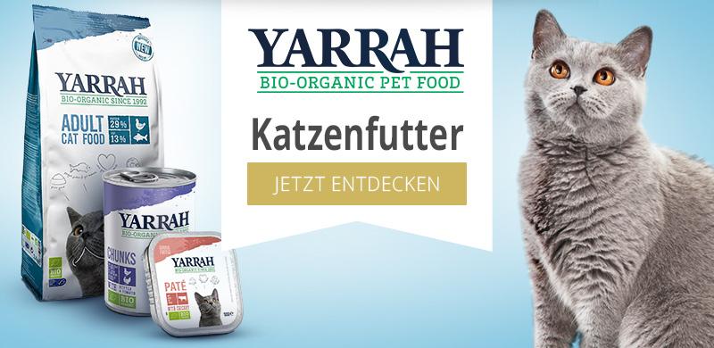 Yarrah Nassfutter für Katzen