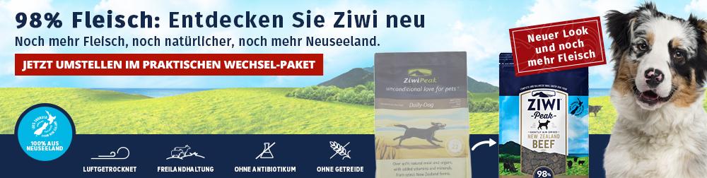 Das neue Ziwi Air-Dried für Hunde