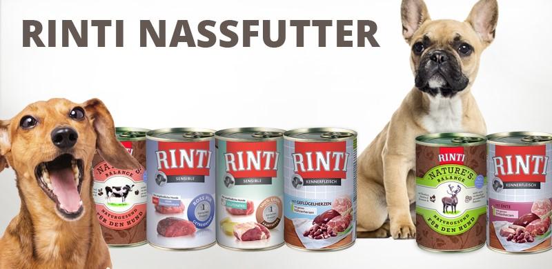 Rinti Nassfutter für Hunde