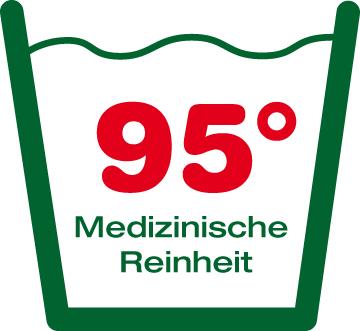 Mit 95 Grad Waschbar