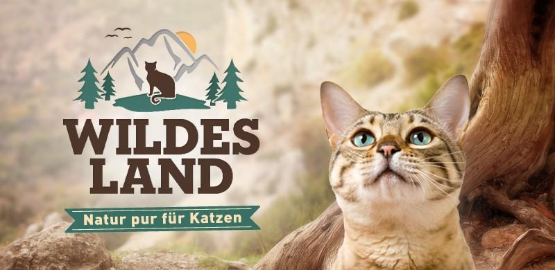 Wildes Land Katzenfutter