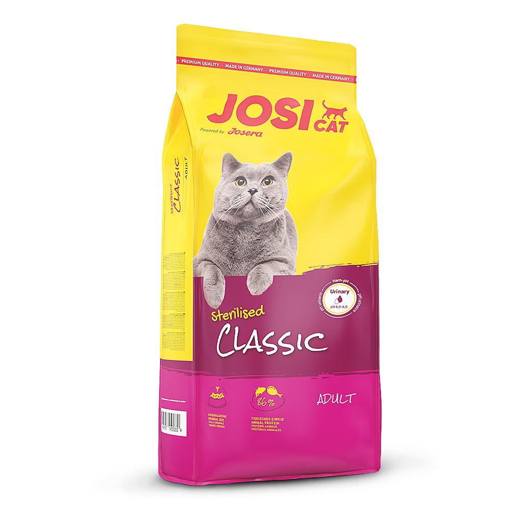 7 x 650 g | JosiCat | Sterilised Classic | Trockenfutter | Katze