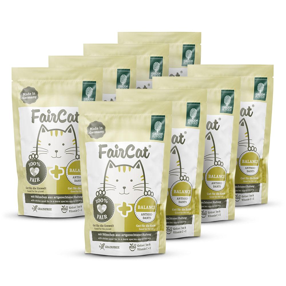8 x 85 g | Green Petfood | Nassfutter FairCat | Nassfutter | Katze