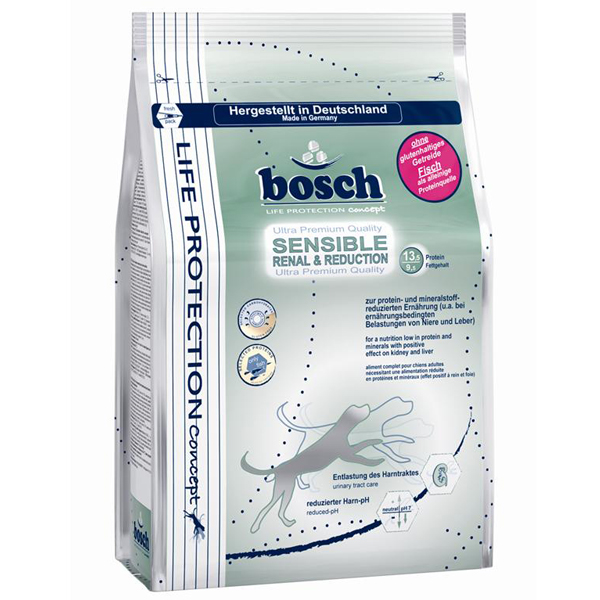 Bosch - Trockenfutter - Life Protection Sensible Renal and Reduction 0,75kg (glutenfrei)