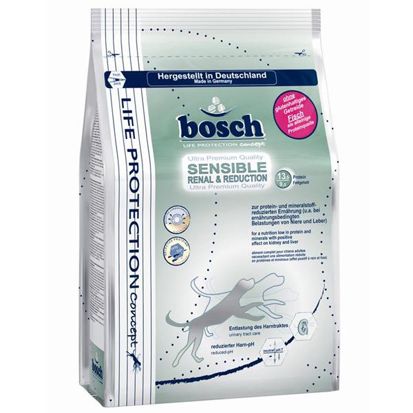 Bosch - Trockenfutter - Life Protection Sensible Renal and Reduction 0,75kg (glutenfrei)