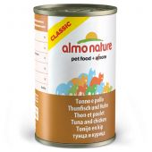 Almo Nature - Nassfutter - Classic Thunfisch und Huhn