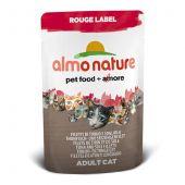 Almo Nature - Nassfutter - Rouge Label Thunfisch- und Seezungenfilet