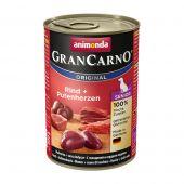 Animonda - Nassfutter - GranCarno Senior Rind + Putenherzen (getreidefrei)