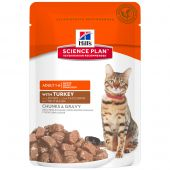 Hill's - Nassfutter - Science Plan Feline Adult Optimal Care Truthahn