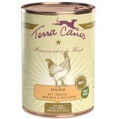 Terra Canis - Nassfutter - Huhn mit Amaranth, Tomaten & Basilikum (glutenfrei)