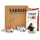 Yarrah - Hundefutter - Probierpaket Trockenfutter Bio Huhn & Fisch Grain Free + Nassfutter Bio Paté (getreidefrei)