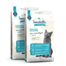 Sanabelle - Trockenfutter - Vorteilspaket Dental 2 x 2kg