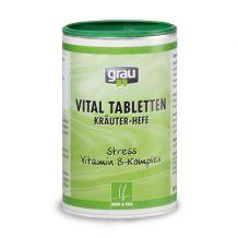 grau - Ergänzungsfutter - Vital Tabletten 500Stück