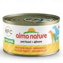 Almo Nature - Nassfutter - Natural Hühnerfilet
