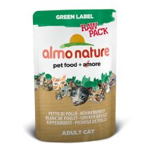 Almo Nature - Green Label - Raw Pack Hühnerbrust